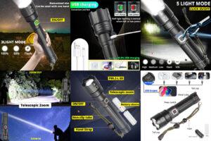 Flashlight s XHP 90.2 – прочное устройство на длительное время пользования