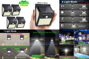 Goodland 228 144 100 светодиодный солнечный светильник – безопасность важна всегда