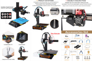KINGROON DIY 3D принтер KP3S