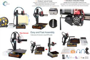 KINGROON KP3S 3D-принтер