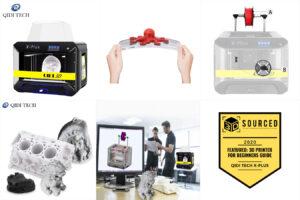 Qidi Tech Большой интеллектуальный промышленный 3d принтер