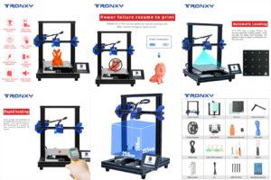 3D- принтер TRONXYс датчиком накаливания