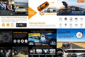Vantrue N2 Pro для любых транспортных средств