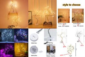 Светильник Мини Рождественская елка – оригинальное решение для оформления декора