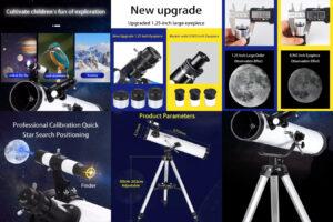 TELMU -профессиональный и недорогой телескоп