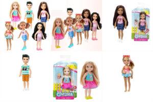 Серия мини Челси — детишки Барби