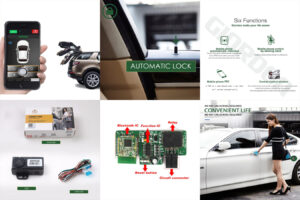 Умная дистанционная система для защиты авто