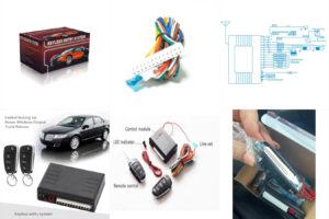 Централизованная автомобильная сигнализация с дистанционным управлением