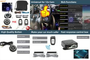 Автомобильная сигнализация с дистанционным управлением
