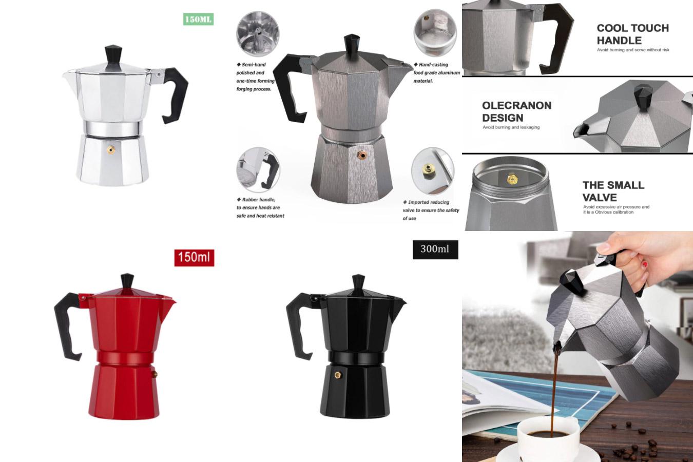 Простая гейзерная кофеварка