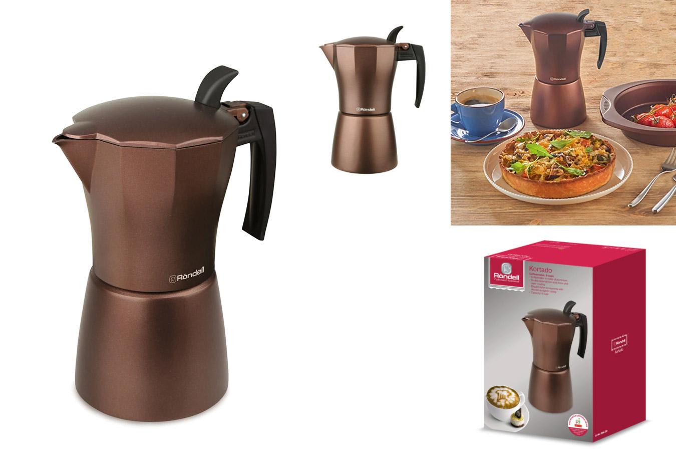 Качественная кофеварка для эспрессо