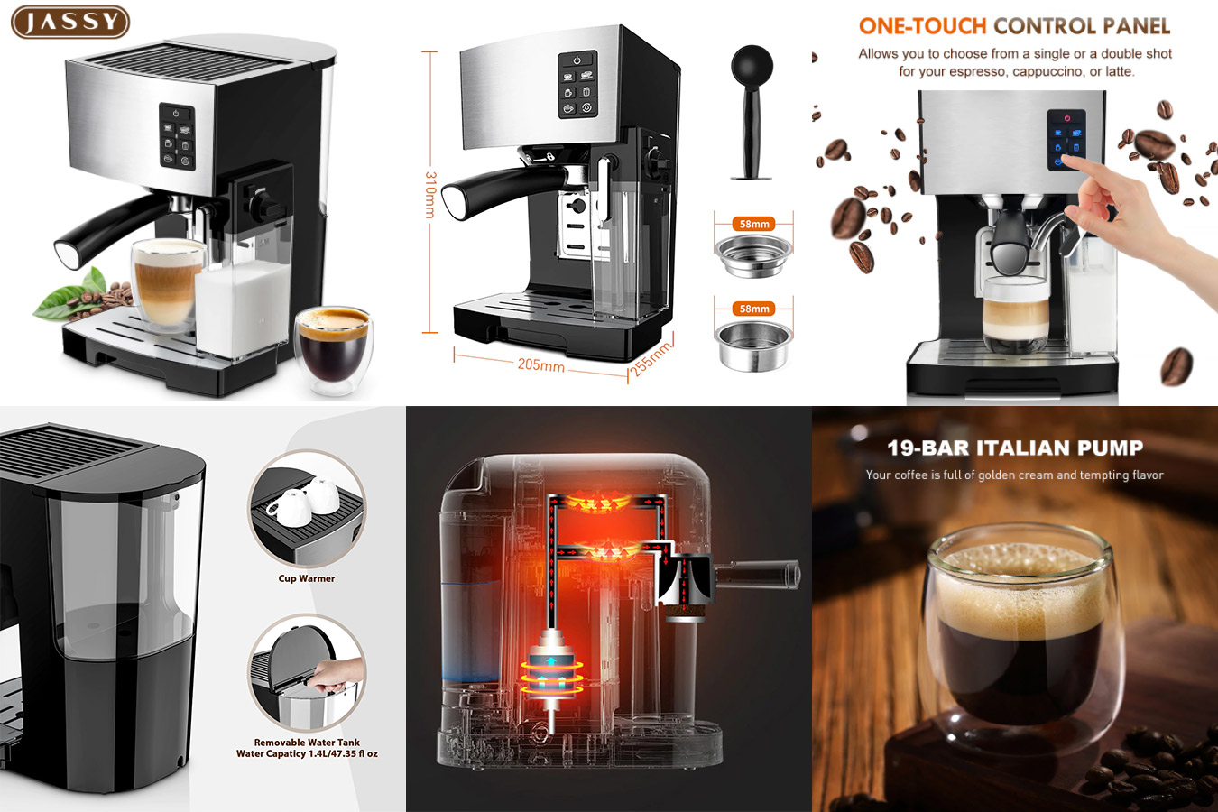 Кофемашина с контролем температуры