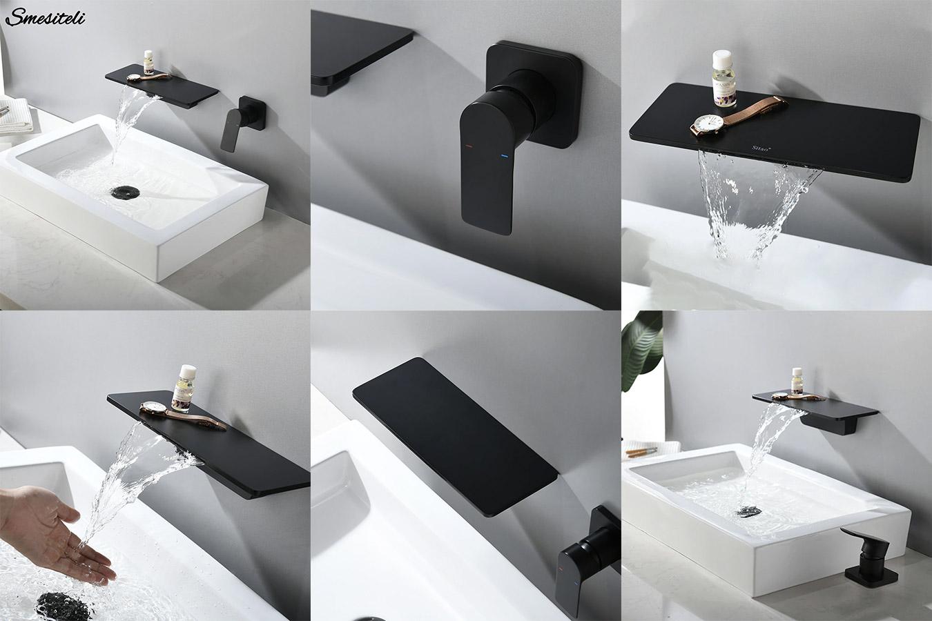 Стильный смеситель в ванную