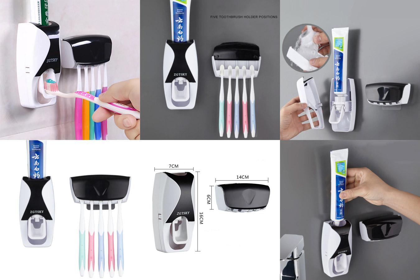 Автоматический стильный дозатор для зубной пасты
