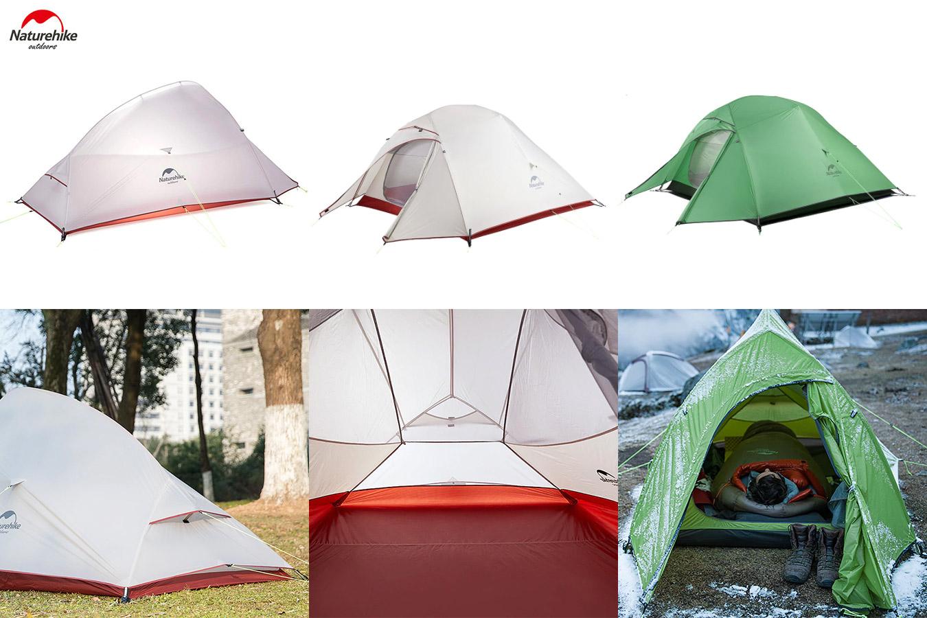 Палатка с ковриком