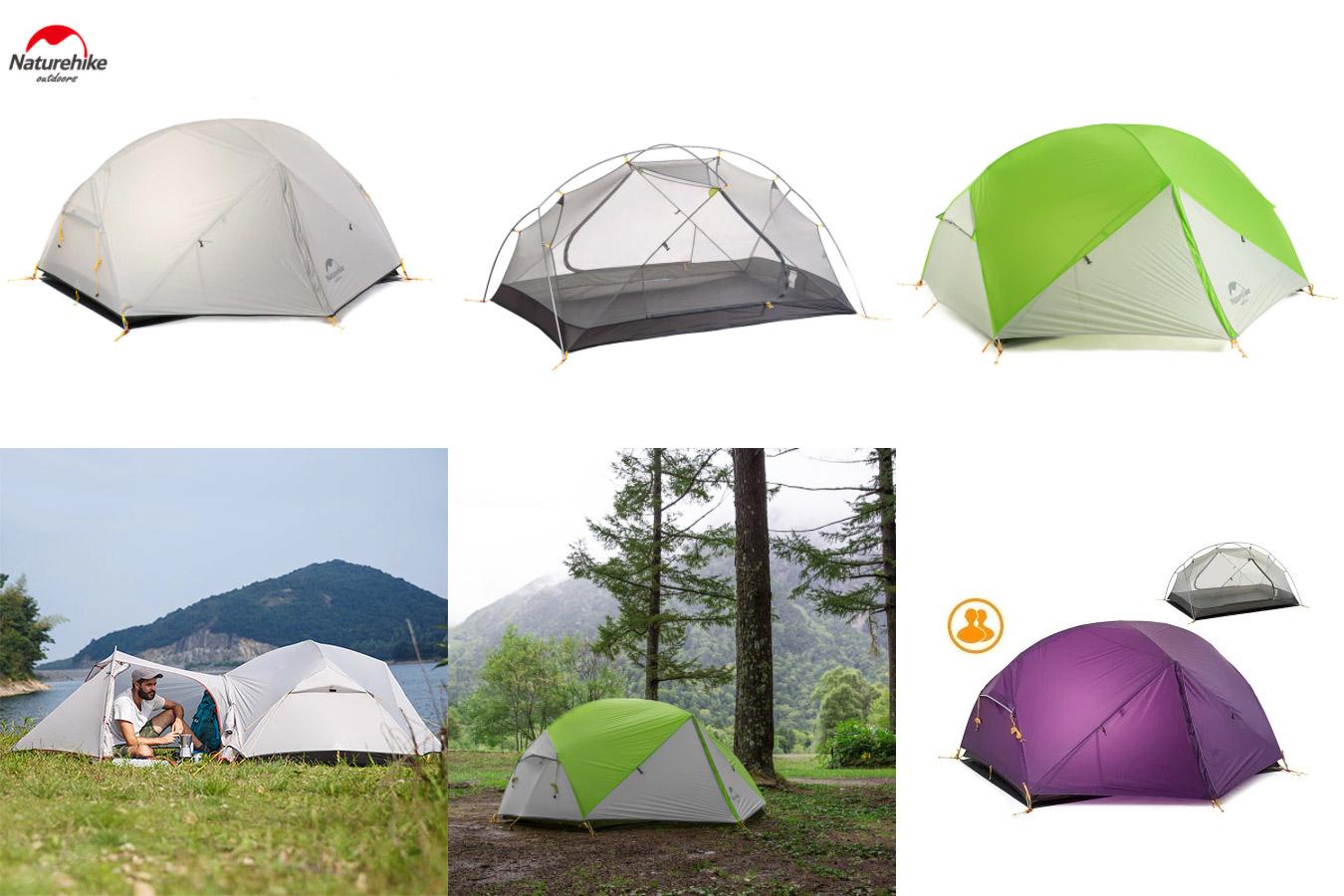 Сверхлегкая палатка для двух человек