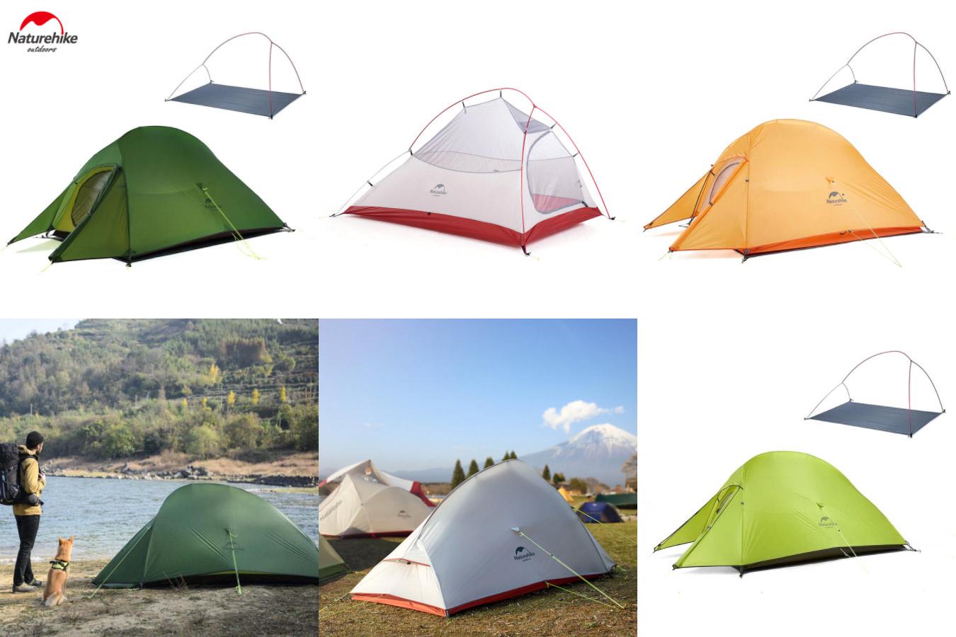 Одноместная палатка из нейлона