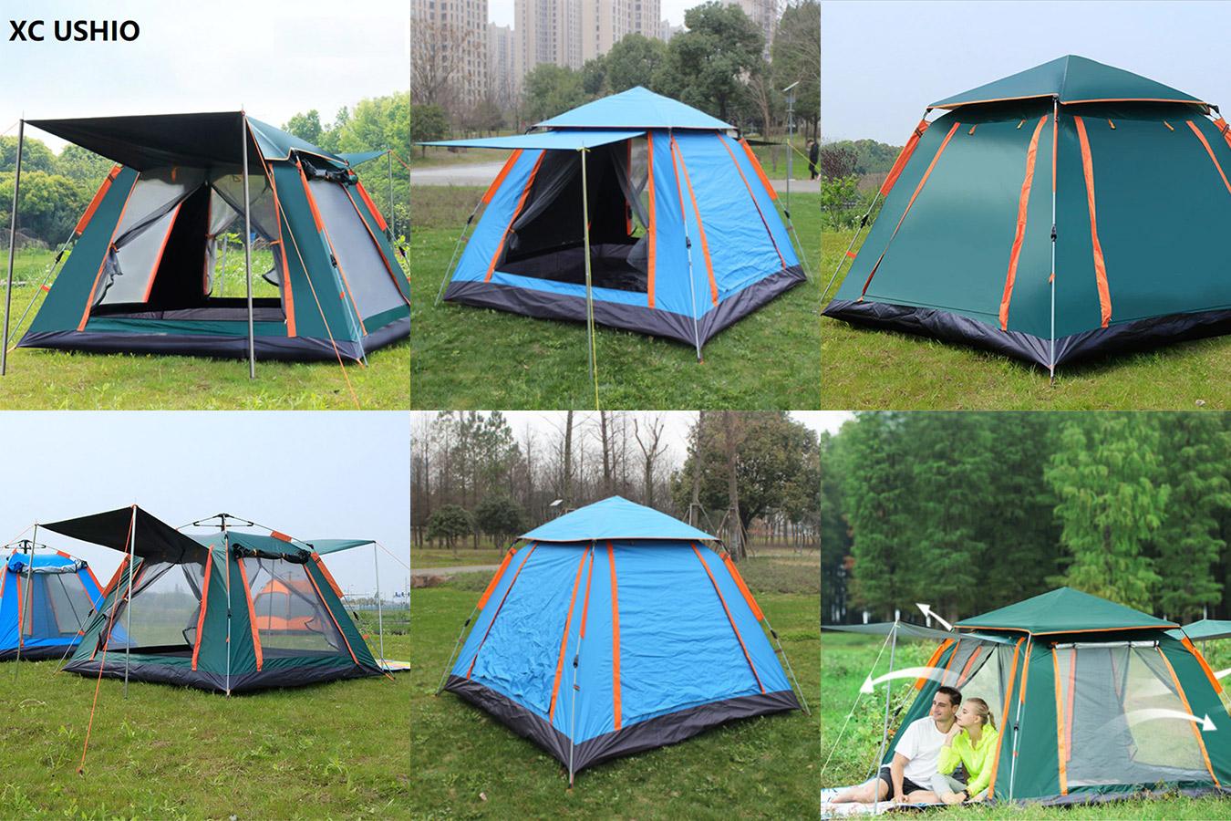 Двухслойная палатка для всей семьи