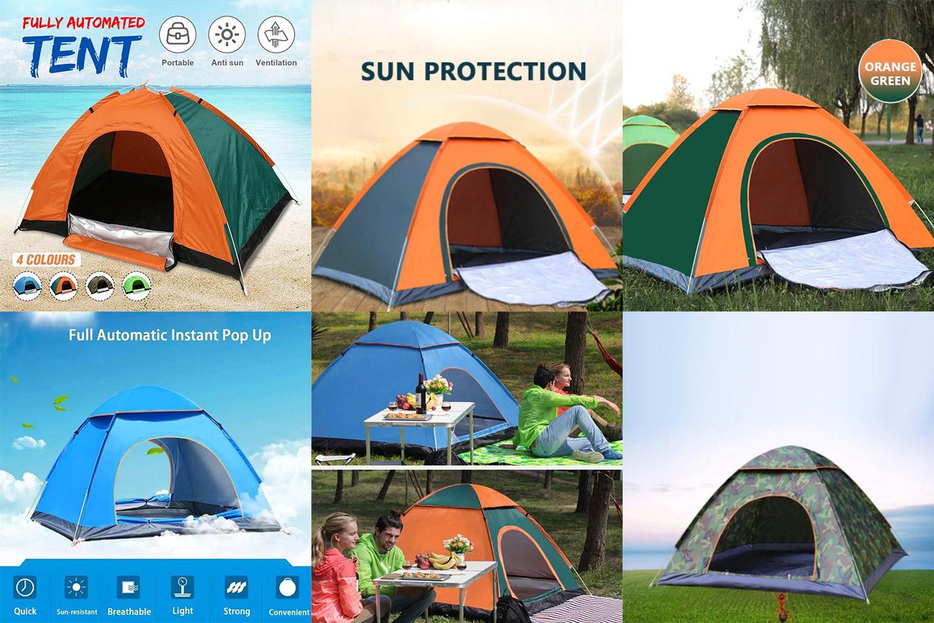 Палатка повышенной прочности