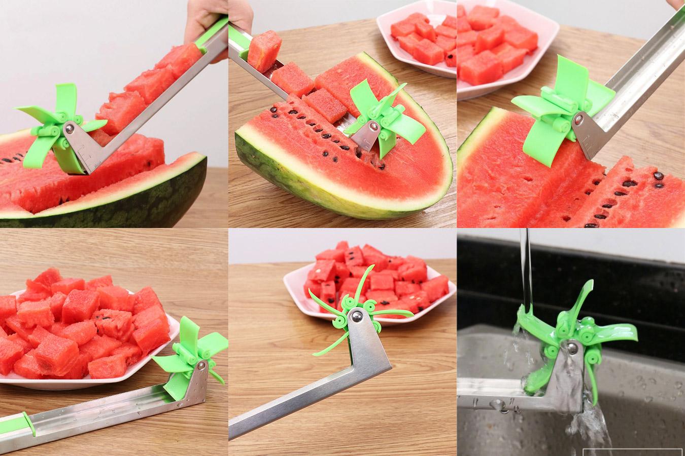 Нож для нарезки дыни или арбуза