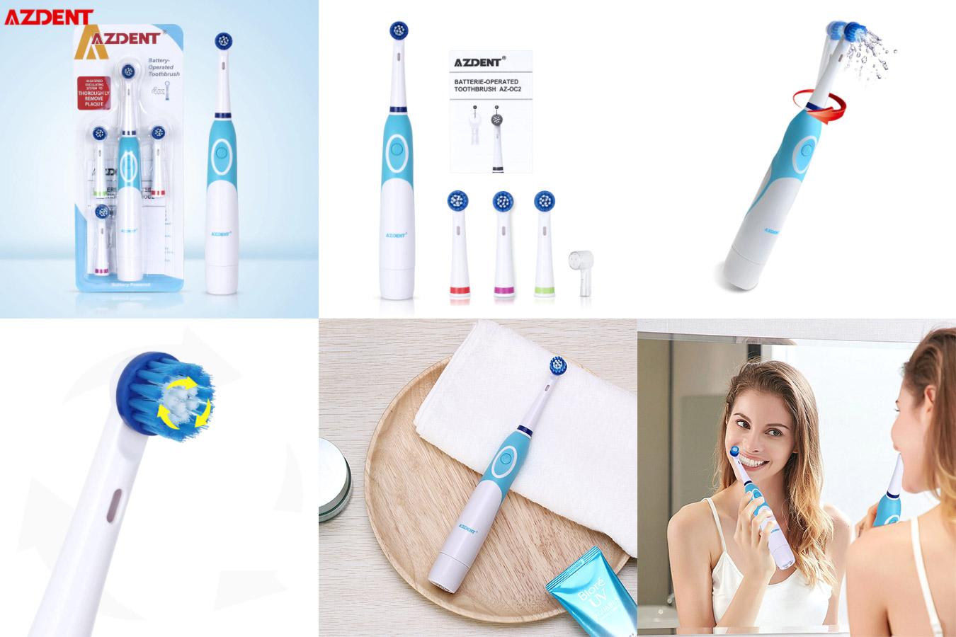 Комфортная зубная щётка AZDENT