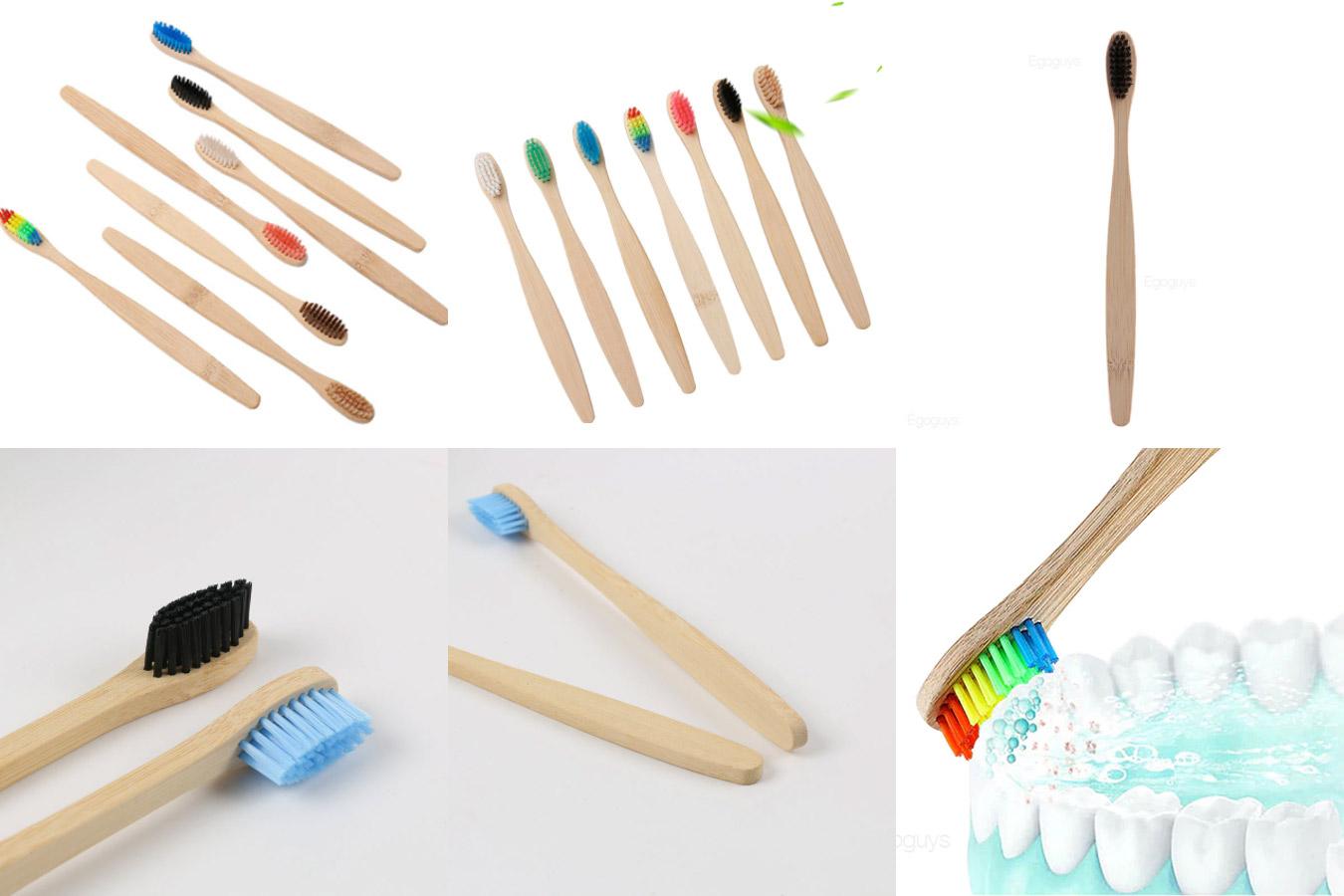 Зубная щетка из натуральных материалов