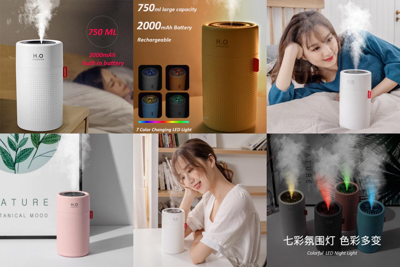 Недорогой китайский увлажнитель воздуха